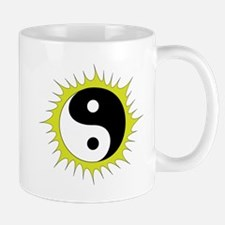 Yin Yang in front of the Sun - Mug