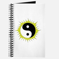 Yin Yang in front of the Sun - Journal