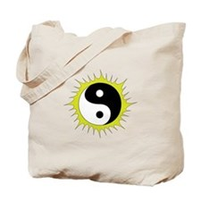 Yin Yang in front of the Sun - Tote Bag