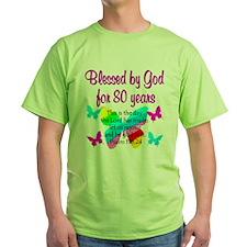 80TH PRAISE GOD T-Shirt