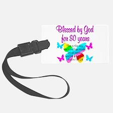 80TH PRAISE GOD Luggage Tag
