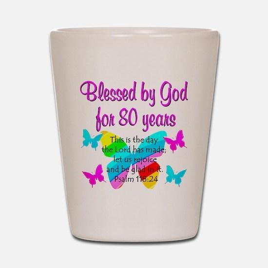 80TH PRAISE GOD Shot Glass