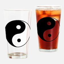 Classic Yin Yang - Drinking Glass