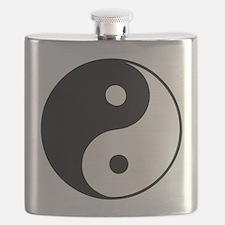 Classic Yin Yang - Flask