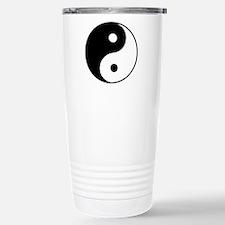 Classic Yin Yang - Stainless Steel Travel Mug