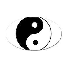 Classic Yin Yang - Wall Decal
