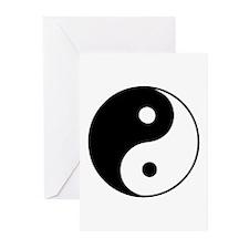 Classic Yin Yang - Greeting Cards (Pk of 20)