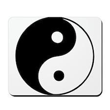 Classic Yin Yang - Mousepad