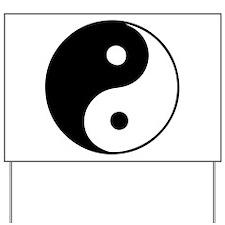 Classic Yin Yang - Yard Sign