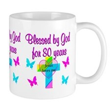 80TH LOVE GOD Mug