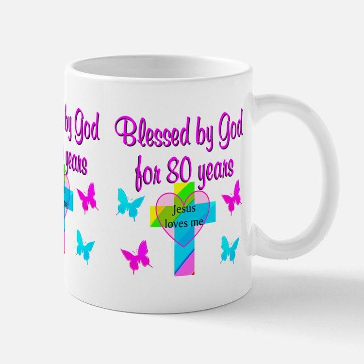 80TH LOVE GOD Mug