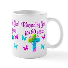 80TH LOVE GOD Small Small Mug