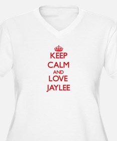 Keep Calm and Love Jaylee Plus Size T-Shirt