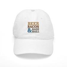 Beer Bacon Baseball Baseball Cap