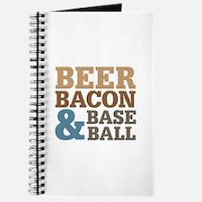 Beer Bacon Baseball Journal