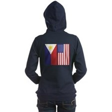 Pi And Us Flags Hooded Sweatshirt