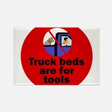 Truck beds for tools Magnets