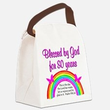 80TH LOVE JESUS Canvas Lunch Bag
