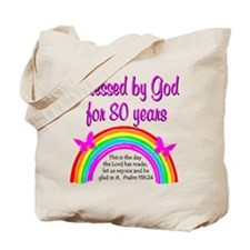 80TH LOVE JESUS Tote Bag