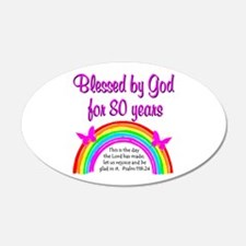 80TH LOVE JESUS Wall Decal