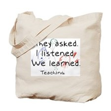 We Learned Tote Bag