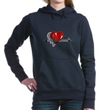 I Heart Barbell Hooded Sweatshirt