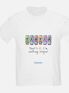 Kids I'm Calling Yiayia T-Shirt