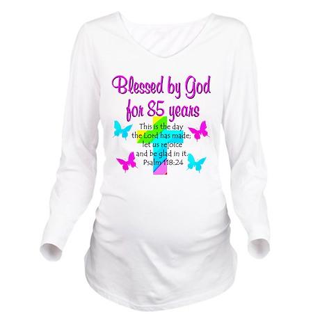 85th LOVE GOD Long Sleeve Maternity T-Shirt