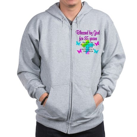 85th LOVE GOD Zip Hoodie