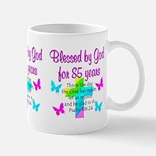 85th LOVE GOD Small Mugs