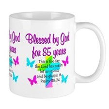 85th LOVE GOD Small Mugs