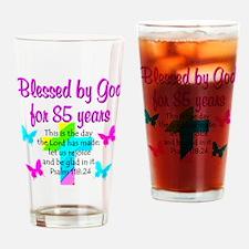 85th LOVE GOD Drinking Glass