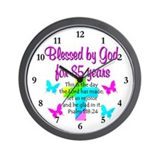 85th LOVE GOD Wall Clock