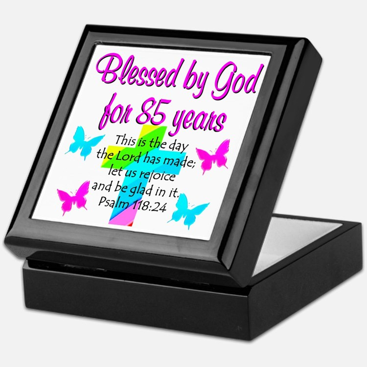 85th LOVE GOD Keepsake Box