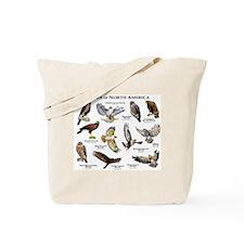 Hawks of North America Tote Bag