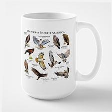 Hawks of North America Ceramic Mugs