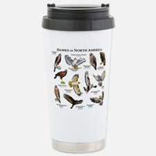 Hawks of North America Stainless Steel Travel Mug