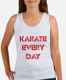Karate Every Day Women's Tank Top