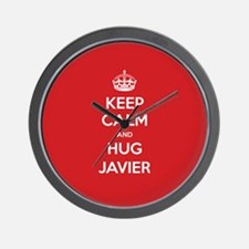 Hug Javier Wall Clock