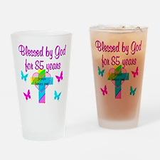 85TH CHRISTIAN Drinking Glass