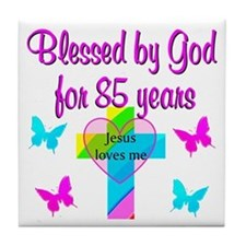 85TH CHRISTIAN Tile Coaster