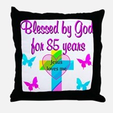85TH CHRISTIAN Throw Pillow