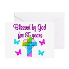 85TH CHRISTIAN Greeting Card