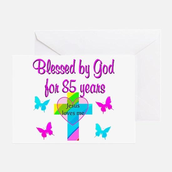 85TH CHRISTIAN Greeting Card