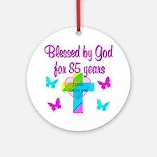 85TH CHRISTIAN Ornament (Round)