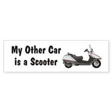 Just Gotta Scoot Helix Bumper Bumper Sticker