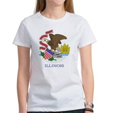 Illinois Flag T-Shirt