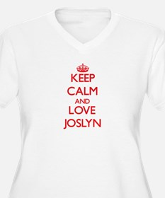 Keep Calm and Love Joslyn Plus Size T-Shirt