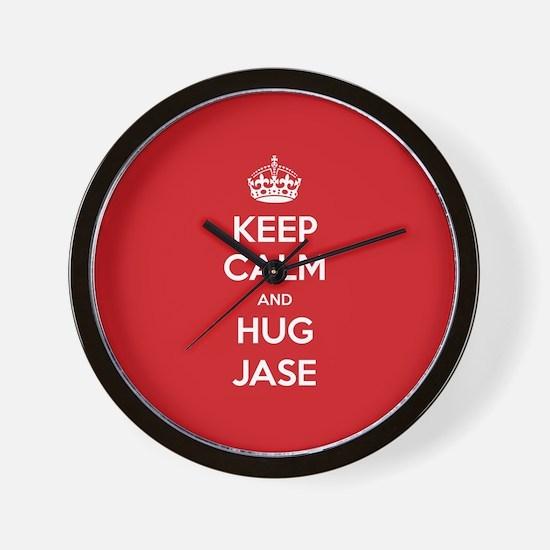 Hug Jase Wall Clock