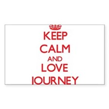 Keep Calm and Love Journey Decal